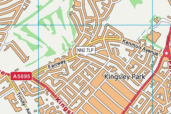 NN2 7LP map - OS VectorMap District (Ordnance Survey)