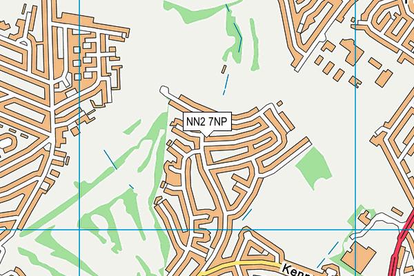 NN2 7NP map - OS VectorMap District (Ordnance Survey)