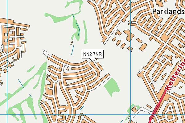 NN2 7NR map - OS VectorMap District (Ordnance Survey)