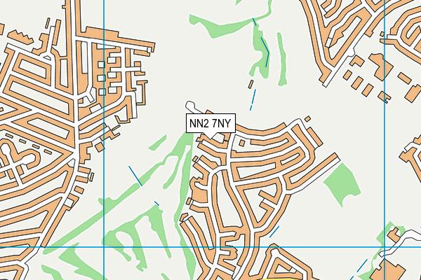 NN2 7NY map - OS VectorMap District (Ordnance Survey)