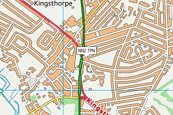 NN2 7PN map - OS VectorMap District (Ordnance Survey)