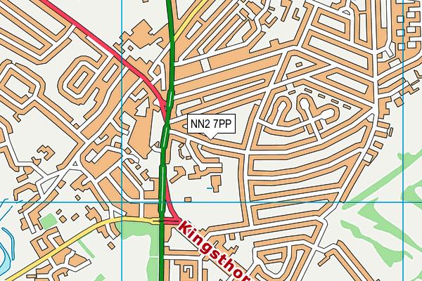 NN2 7PP map - OS VectorMap District (Ordnance Survey)