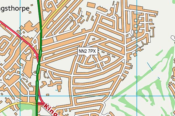 NN2 7PX map - OS VectorMap District (Ordnance Survey)