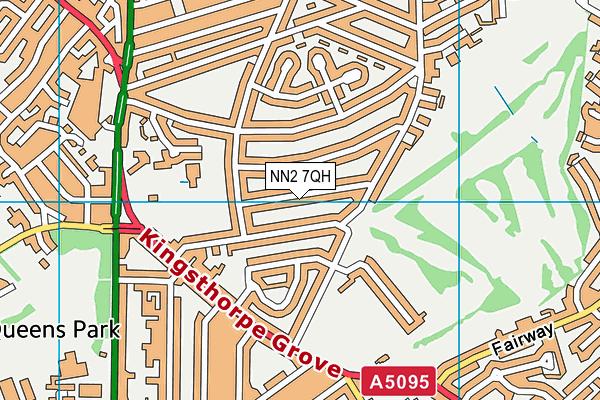 NN2 7QH map - OS VectorMap District (Ordnance Survey)