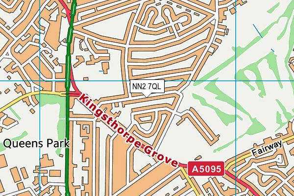 Kingsthorpe Grove Primary School map (NN2 7QL) - OS VectorMap District (Ordnance Survey)