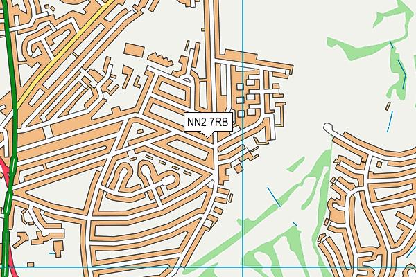 NN2 7RB map - OS VectorMap District (Ordnance Survey)