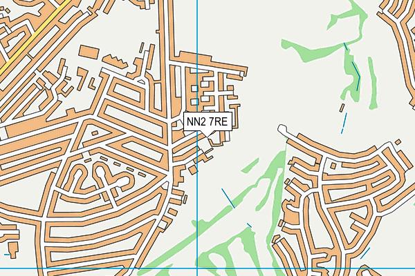 NN2 7RE map - OS VectorMap District (Ordnance Survey)