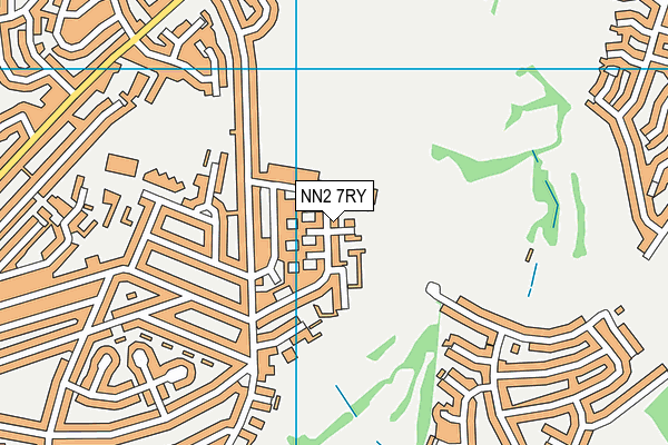 NN2 7RY map - OS VectorMap District (Ordnance Survey)
