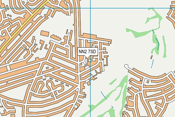 NN2 7SD map - OS VectorMap District (Ordnance Survey)