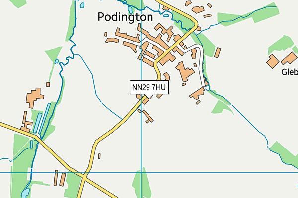 Christopher Reeves CofE VA Primary School map (NN29 7HU) - OS VectorMap District (Ordnance Survey)