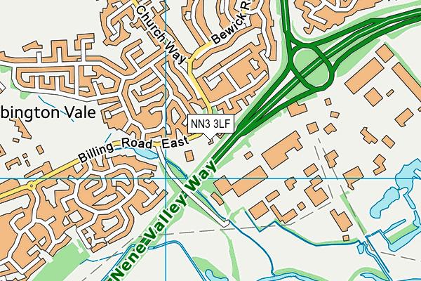 Focus School - Northampton Primary Campus map (NN3 3LF) - OS VectorMap District (Ordnance Survey)