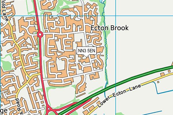 St Andrew's Ceva Primary School map (NN3 5EN) - OS VectorMap District (Ordnance Survey)