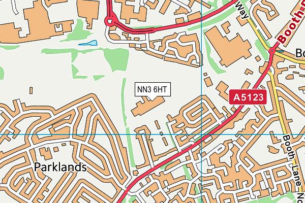 Thomas Becket Catholic School map (NN3 6HT) - OS VectorMap District (Ordnance Survey)