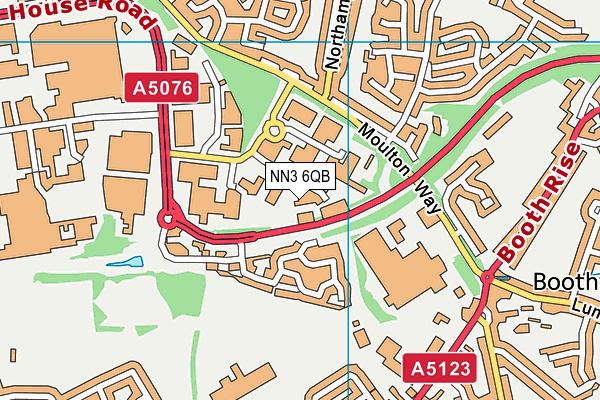 On Track Education Centre Northants map (NN3 6QB) - OS VectorMap District (Ordnance Survey)