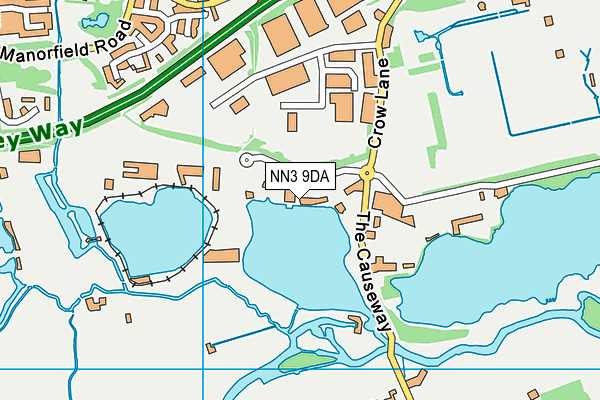 Billing Aquadrome Map NN3 9DA maps, stats, and open data