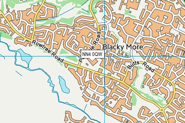 East Hunsbury Primary School map (NN4 0QW) - OS VectorMap District (Ordnance Survey)