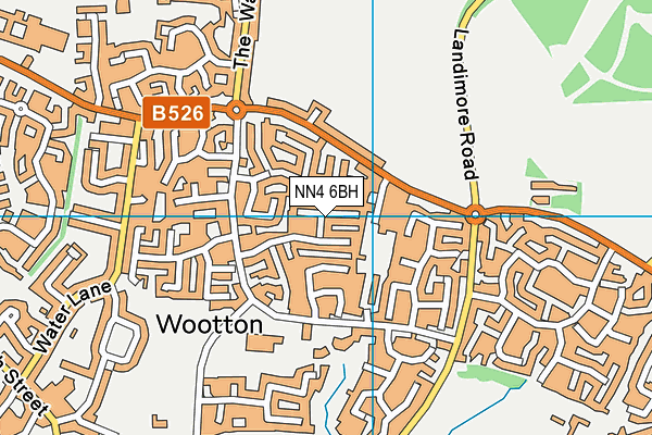 Map of OUTCOME HOUSING LTD at district scale