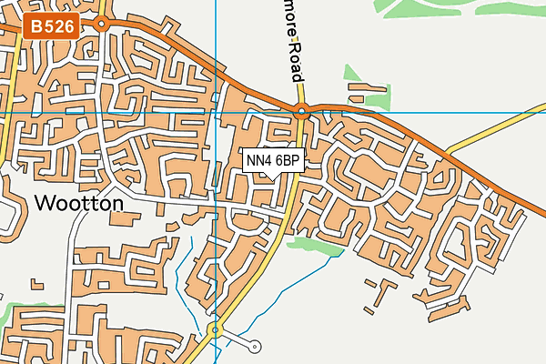 Map of SQUARELINE TRANSPORT LTD at district scale