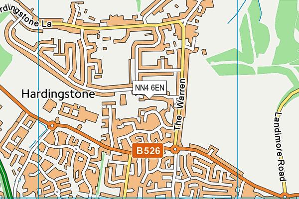 NN4 6EN map - OS VectorMap District (Ordnance Survey)