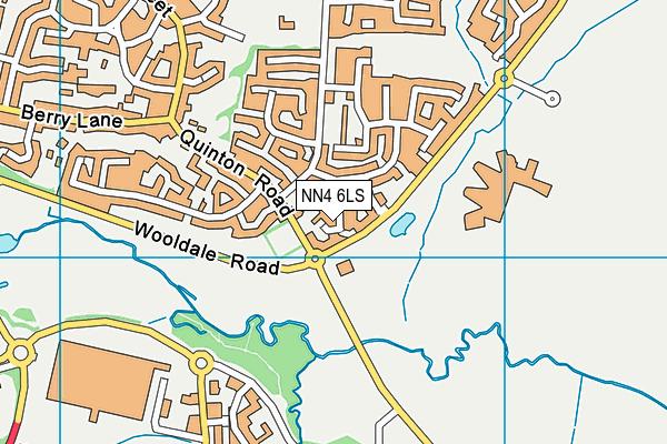NN4 6LS map - OS VectorMap District (Ordnance Survey)