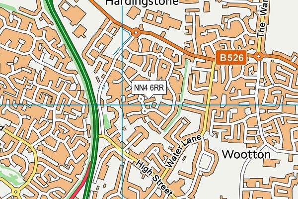 NN4 6RR map - OS VectorMap District (Ordnance Survey)
