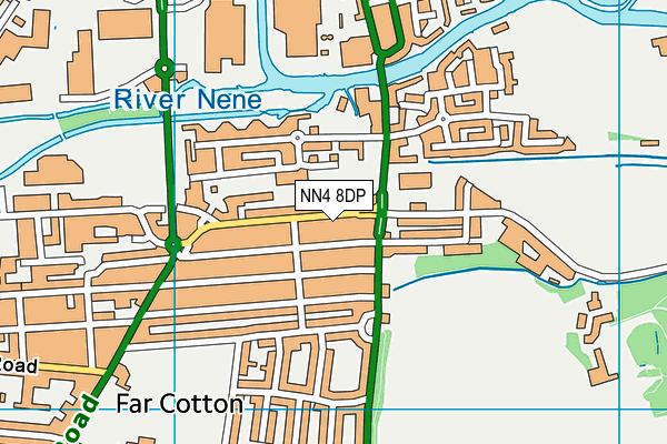 NN4 8DP map - OS VectorMap District (Ordnance Survey)