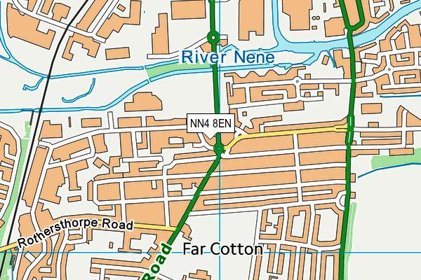 NN4 8EN map - OS VectorMap District (Ordnance Survey)