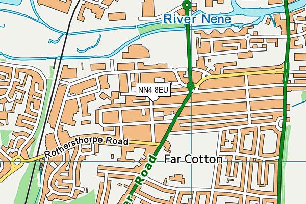 NN4 8EU map - OS VectorMap District (Ordnance Survey)