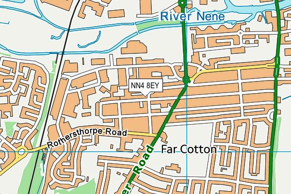 NN4 8EY map - OS VectorMap District (Ordnance Survey)