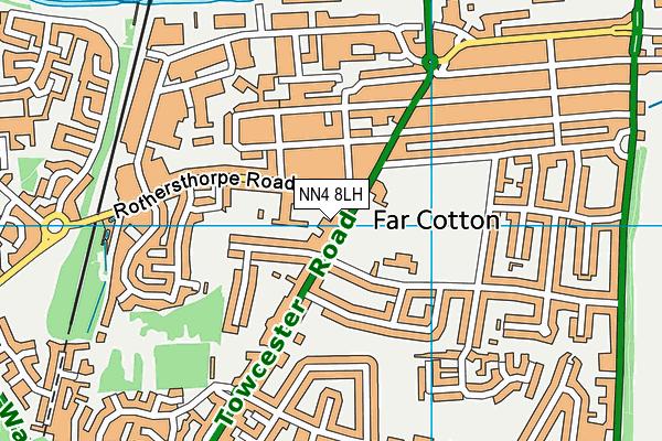 NN4 8LH map - OS VectorMap District (Ordnance Survey)