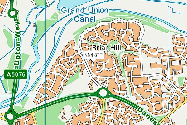 NN4 8TT map - OS VectorMap District (Ordnance Survey)