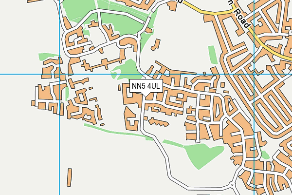 St Luke's Church of England Primary School map (NN5 4UL) - OS VectorMap District (Ordnance Survey)