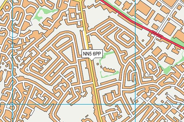 Duston Eldean Primary School map (NN5 6PP) - OS VectorMap District (Ordnance Survey)
