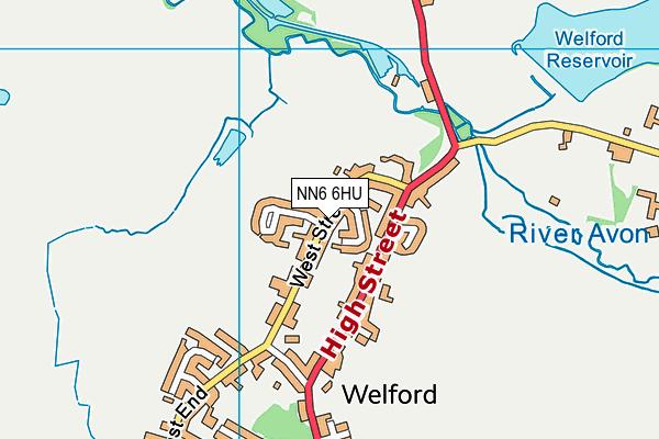 Welford Sibbertoft and Sulby Endowed School map (NN6 6HU) - OS VectorMap District (Ordnance Survey)