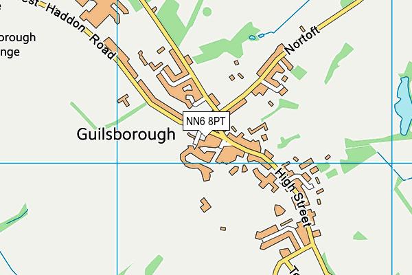 Guilsborough Church of England  Primary School map (NN6 8PT) - OS VectorMap District (Ordnance Survey)