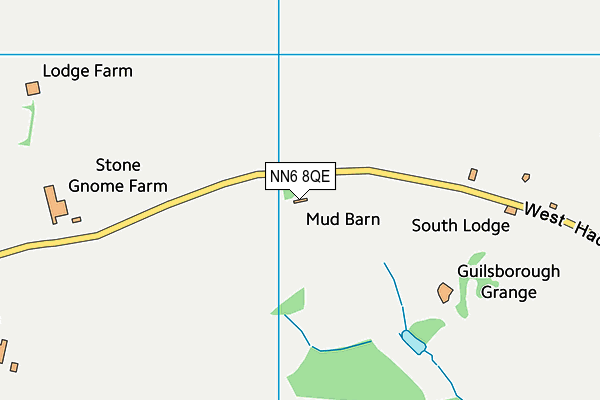 Guilsborough Academy map (NN6 8QE) - OS VectorMap District (Ordnance Survey)