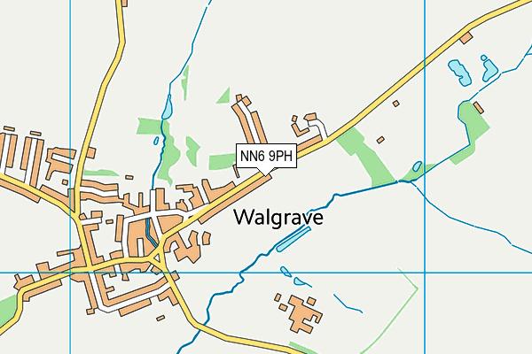 Walgrave Primary School map (NN6 9PH) - OS VectorMap District (Ordnance Survey)