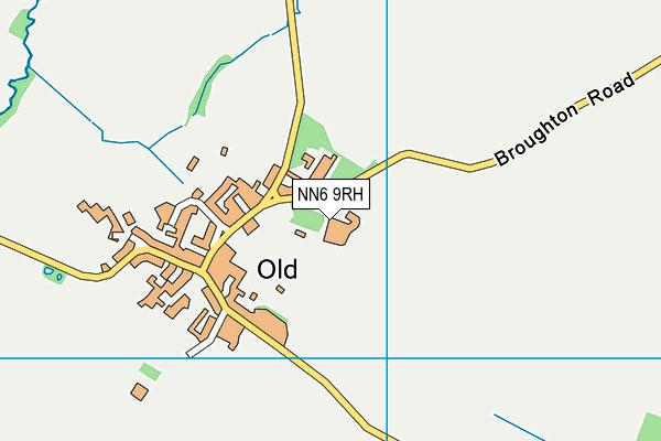 NN6 9RH map - OS VectorMap District (Ordnance Survey)