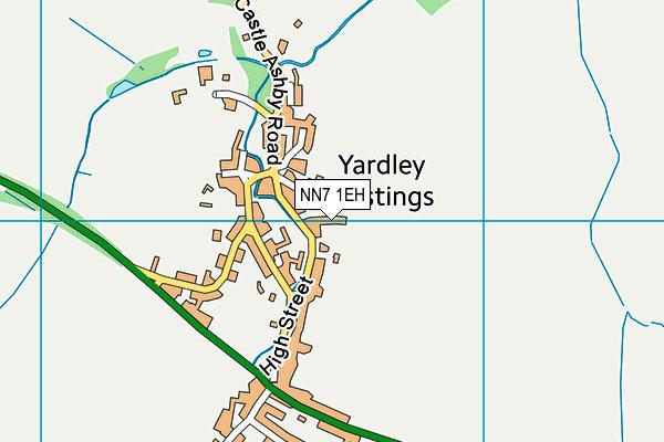 NN7 1EH map - OS VectorMap District (Ordnance Survey)