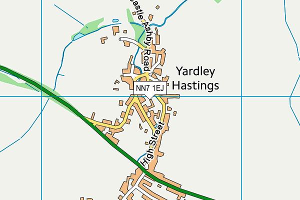 NN7 1EJ map - OS VectorMap District (Ordnance Survey)
