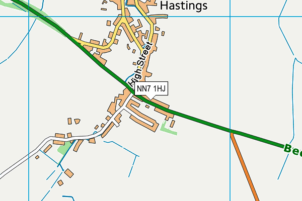 Map of SPICE BLUE (NORTHAMPTON) LIMITED at district scale