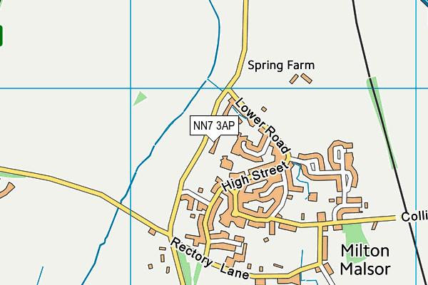 NN7 3AP map - OS VectorMap District (Ordnance Survey)