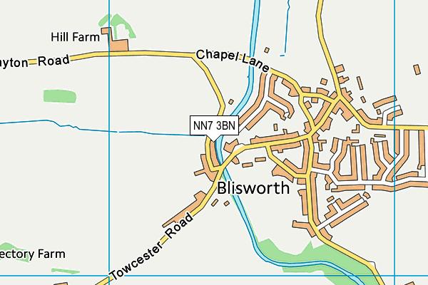 NN7 3BN map - OS VectorMap District (Ordnance Survey)