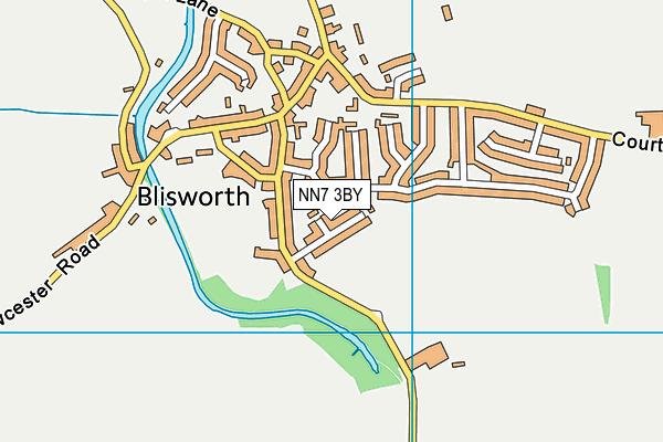 NN7 3BY map - OS VectorMap District (Ordnance Survey)