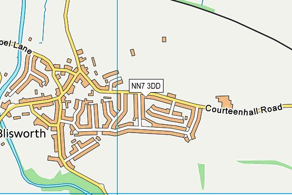 Blisworth Football Club map (NN7 3DD) - OS VectorMap District (Ordnance Survey)