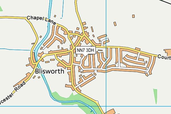 NN7 3DH map - OS VectorMap District (Ordnance Survey)