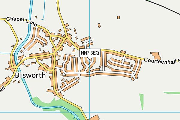 NN7 3EQ map - OS VectorMap District (Ordnance Survey)