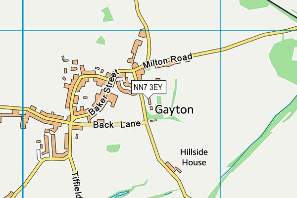 NN7 3EY map - OS VectorMap District (Ordnance Survey)