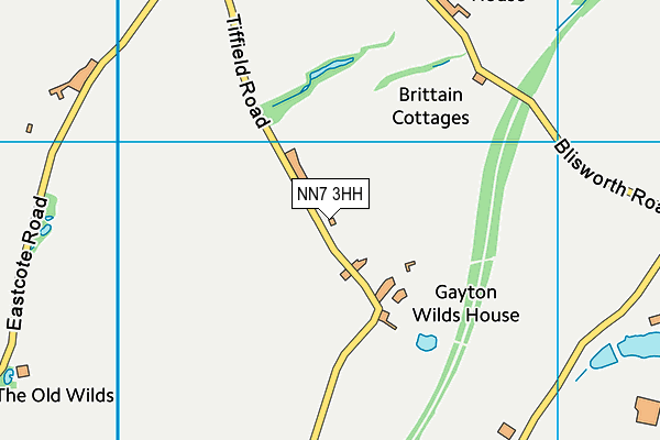 NN7 3HH map - OS VectorMap District (Ordnance Survey)