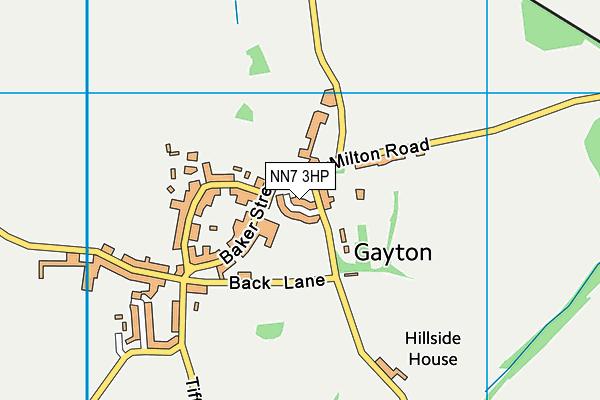 NN7 3HP map - OS VectorMap District (Ordnance Survey)
